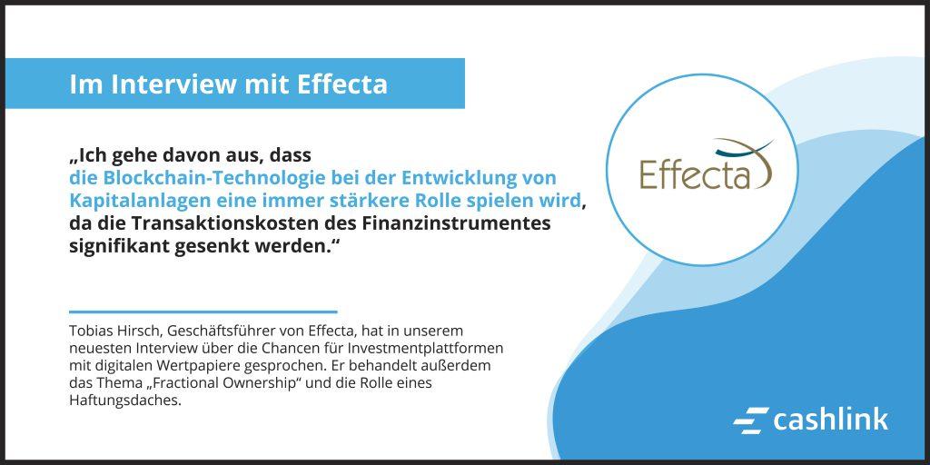 Die Chance für Investmentplattformen: Im Gespräch mit Effecta