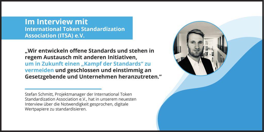 Eine Standardisierung für digitale Wertpapiere: Im Gespräch mit ITSA e.V.
