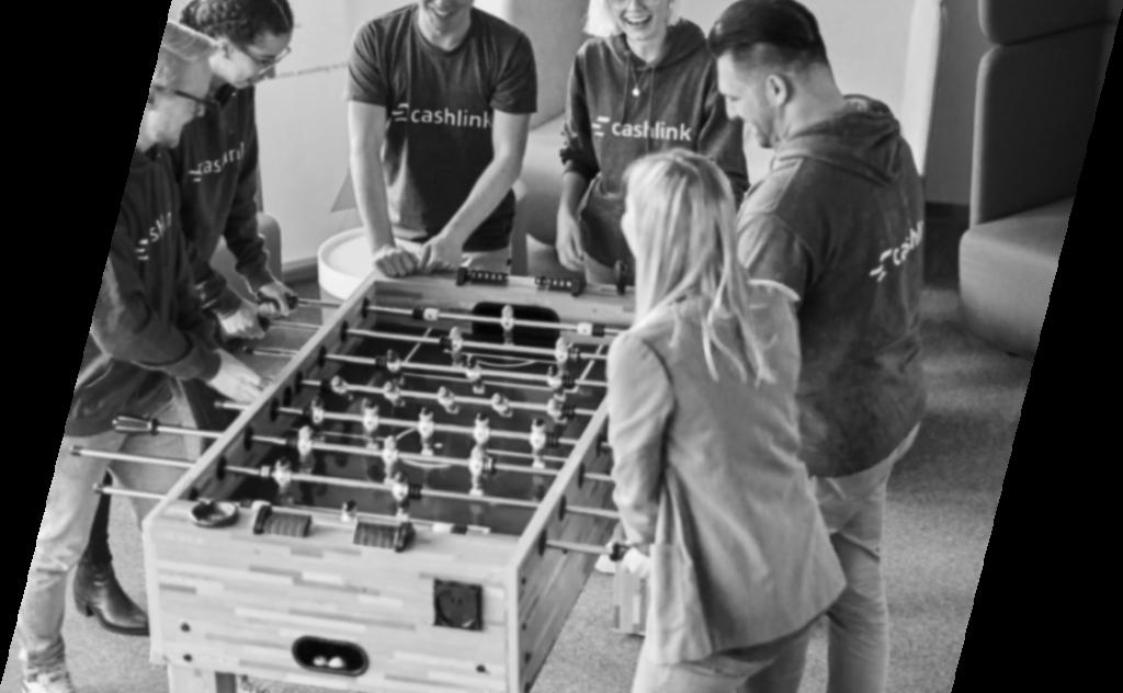 Cashlink Team Foosball table
