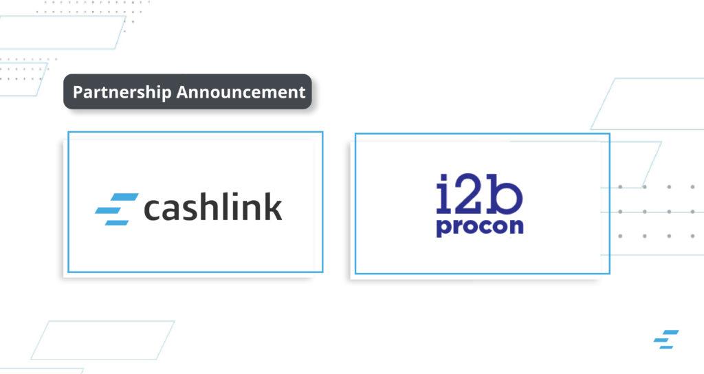 i2b and Cashlink partnership
