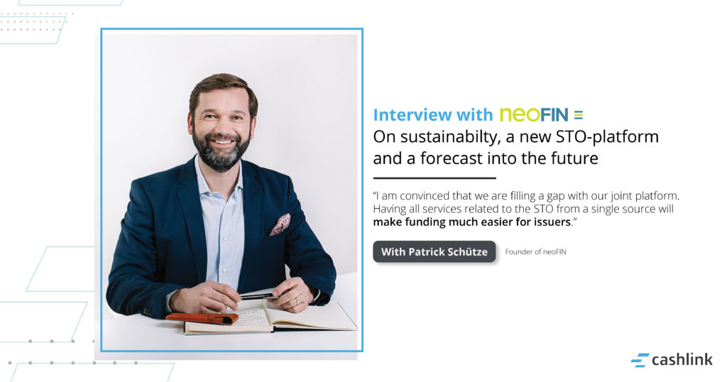 on Sustainability, a new STO-platform and a forecast into the future