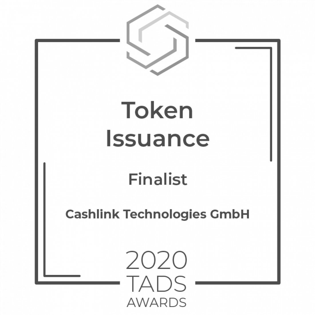 TADS Award Token Issuance Finalist Cashlink (2)